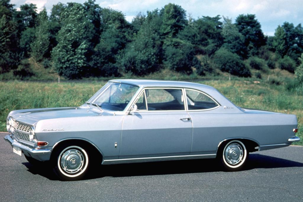 Opel Rekord A Coupe 1963