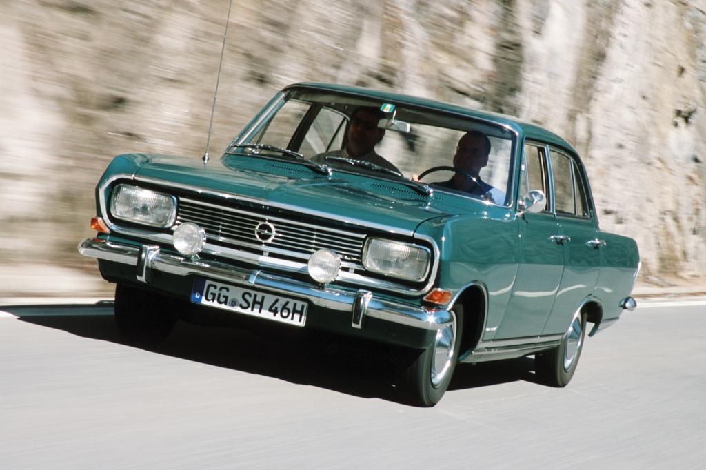 Opel Rekord B Limousine 1965