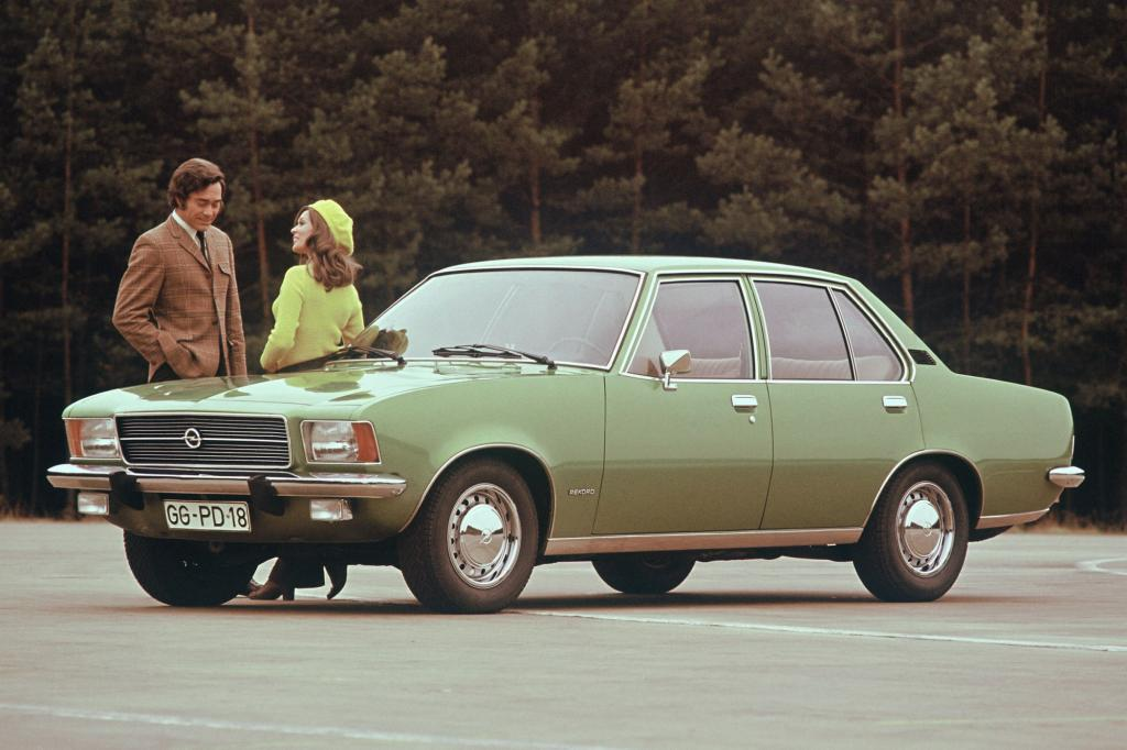 Opel Rekord D Limousine ab 1972