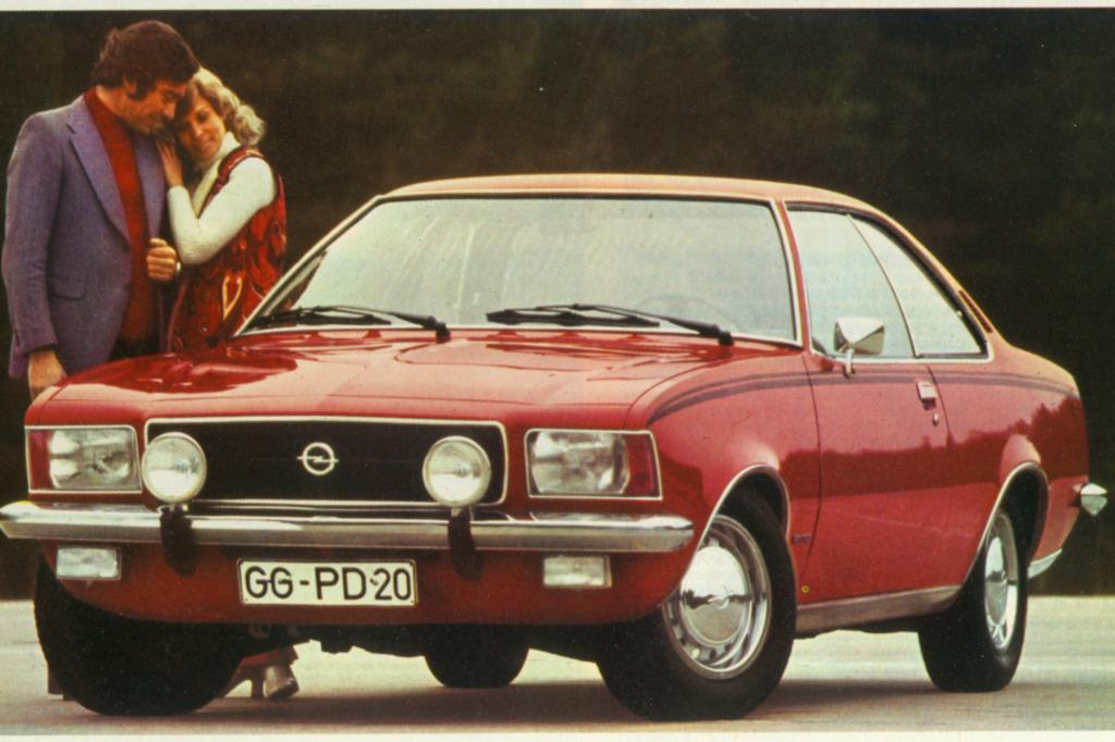 Opel Rekord D Sprint Coupe 1973