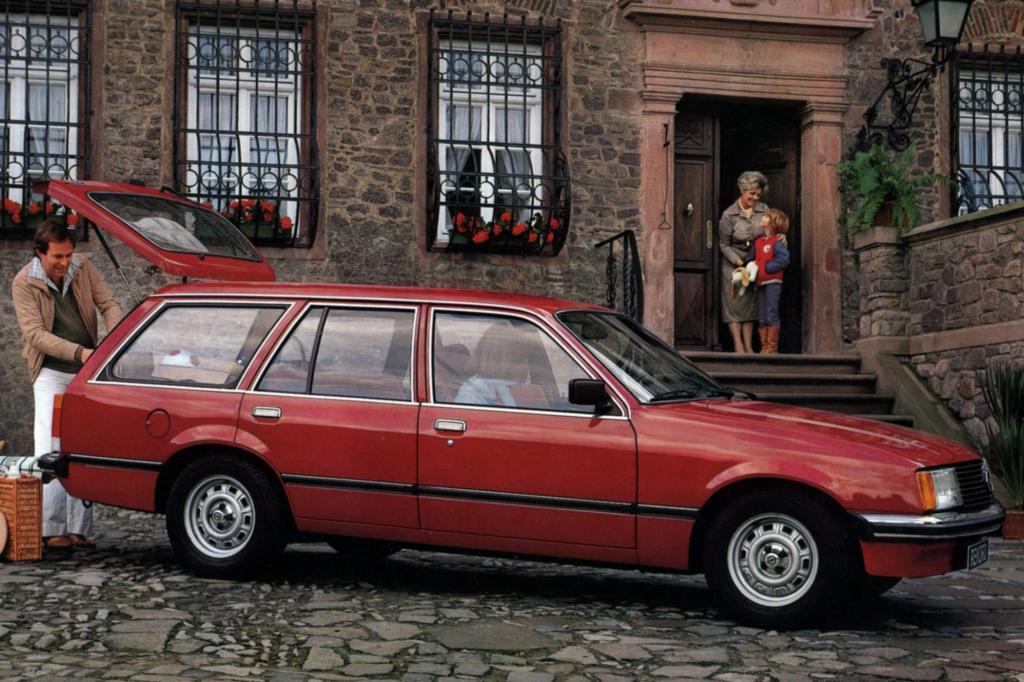 Opel Rekord E1 Caravan 1977