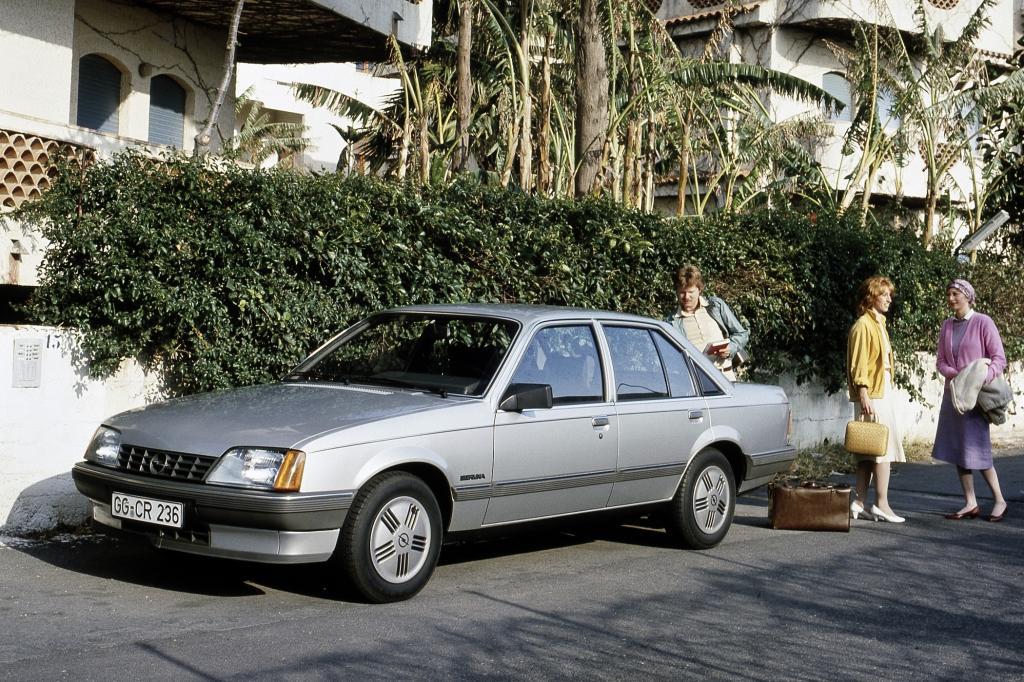 Opel Rekord E2 ab 1982