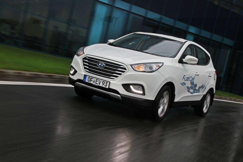 Panorama: Hyundai ix35 Fuelcell - Der Anfang der Alltäglichkeit