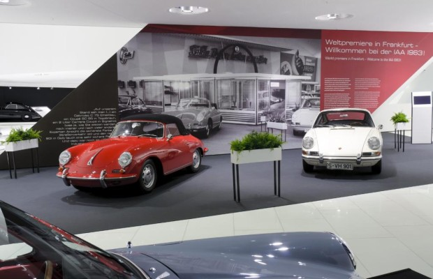 Porsche 911: Jubiläumsausstellung zum 50.