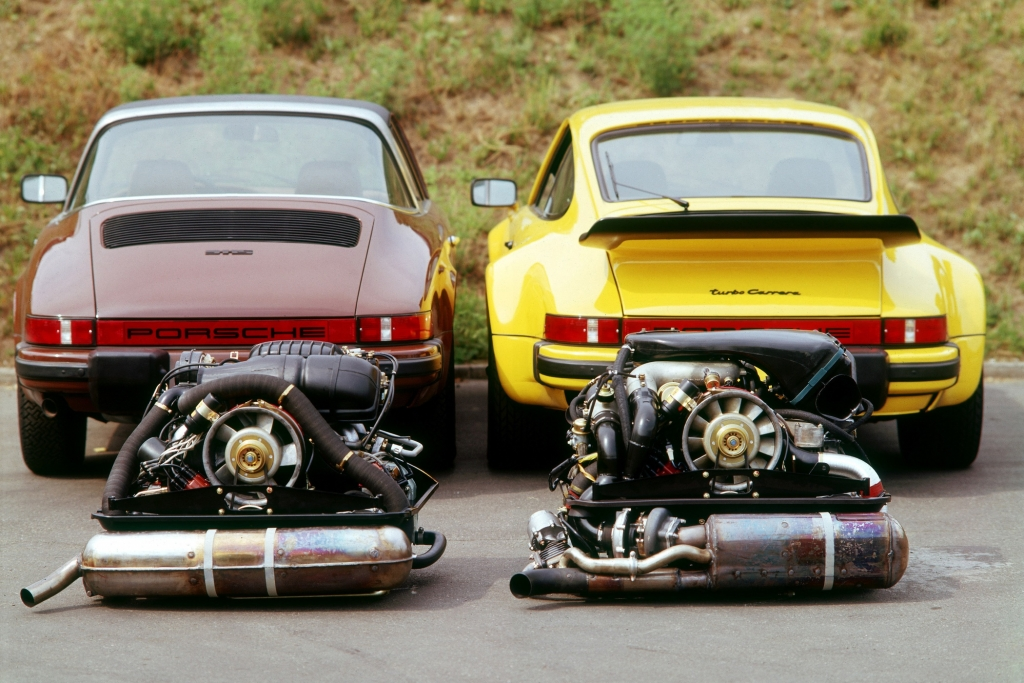 Porsche 911 S Targa und 911 Turbo US-Version