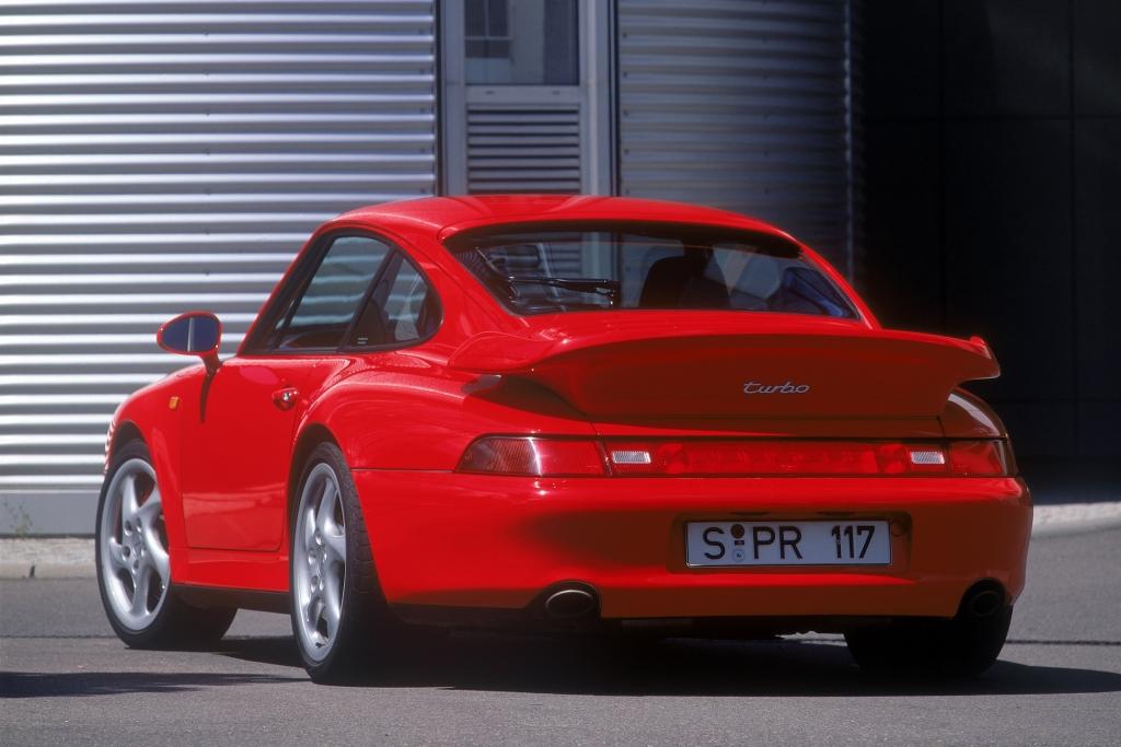 Porsche 911 Turbo S ab 1993