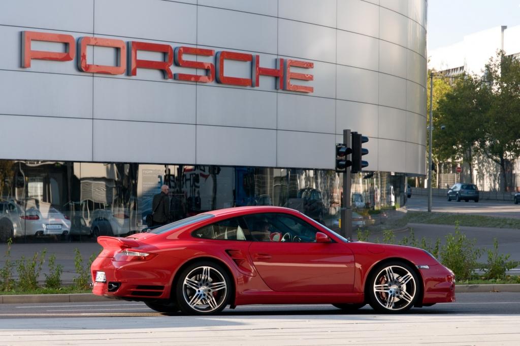 Porsche 911 Turbo ab 2007
