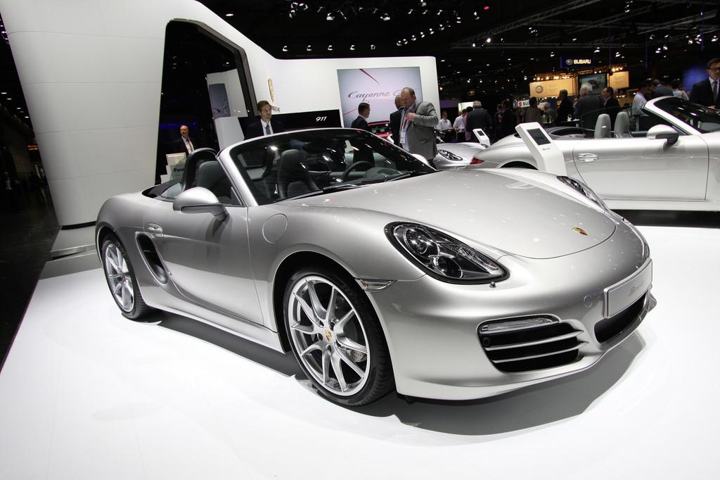 Porsche und GMC bei den