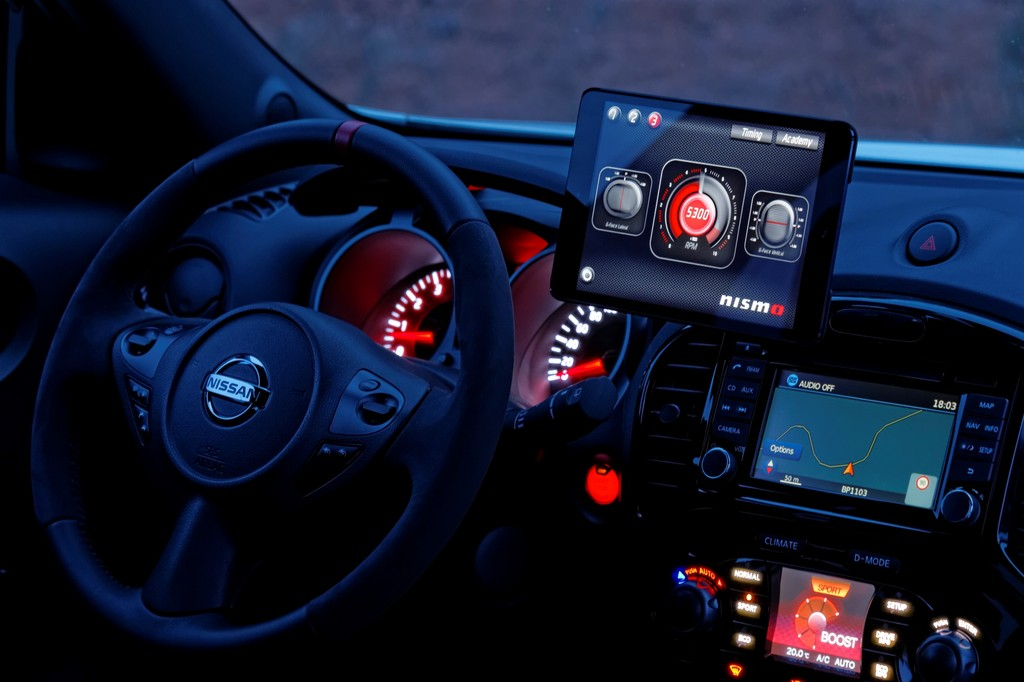 Pressepräsentation Nissan Juke Nismo: Fahrsimulator