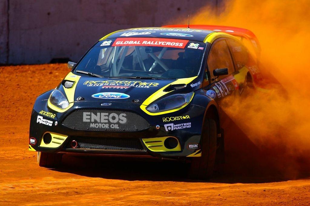Sieben Ford Fiesta startklar für X-Games in München