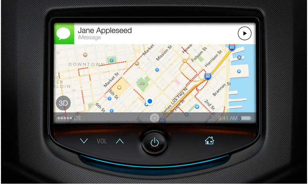 Smartphone-Integration im Auto – Erzähl mir einen Witz | © apple