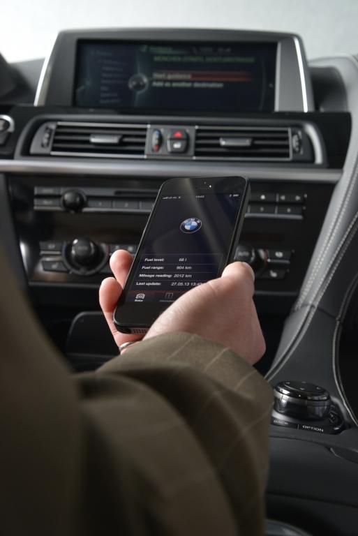 Smartphone-Integration im Auto – Erzähl mir einen Witz | © bmw