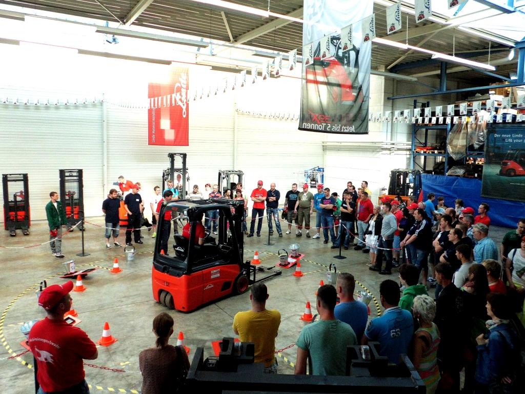 StaplerCup 2013: Jens Metzner gewinnt Qualifikationswettkampf in Leipzig