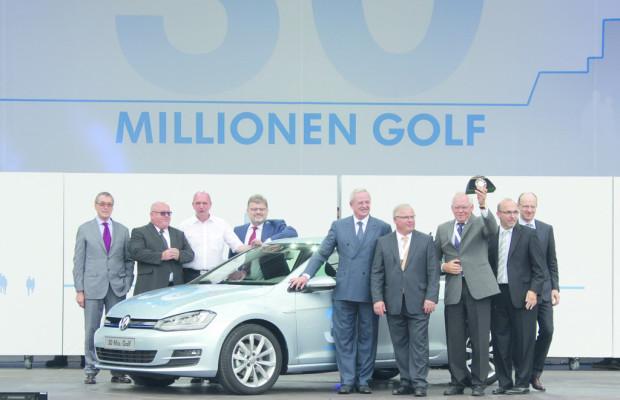 Tag der offenen Tür in Wolfsburg mit 30-millionstem Golf