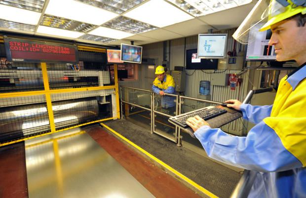 Tata Steel baut Beschichtungsanlage für Automobilstähle aus