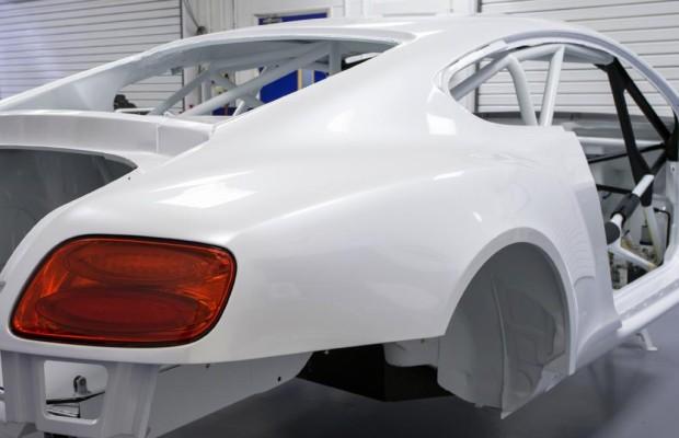 Ten Years After: Bentley Continental GT3 vor der Rennreife