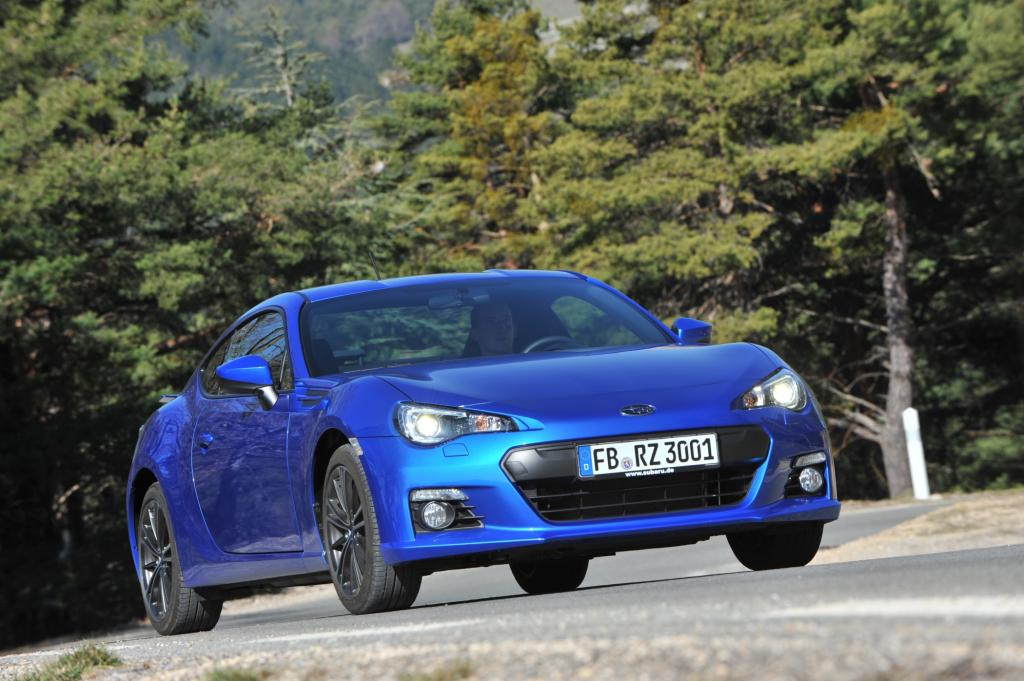 Test: Subaru BRZ - Boxer-Sport