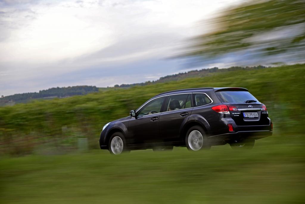 Test Subaru Outback 2.5i – Vor langer Zeit seiner Zeit voraus