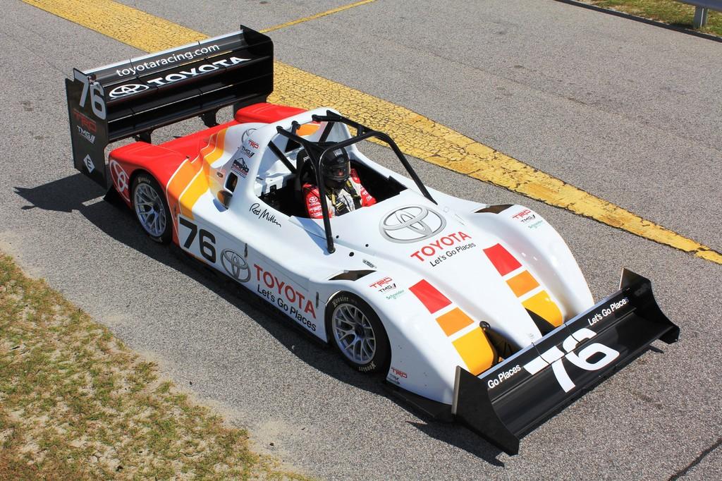 Toyota testet Elektrorennwagen
