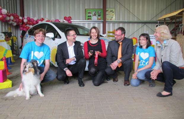 Toyota unterstützt Therapiezentrum für Jugendliche