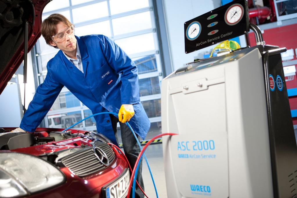 Ungewartete Pkw-Klimaanlagen machen krank