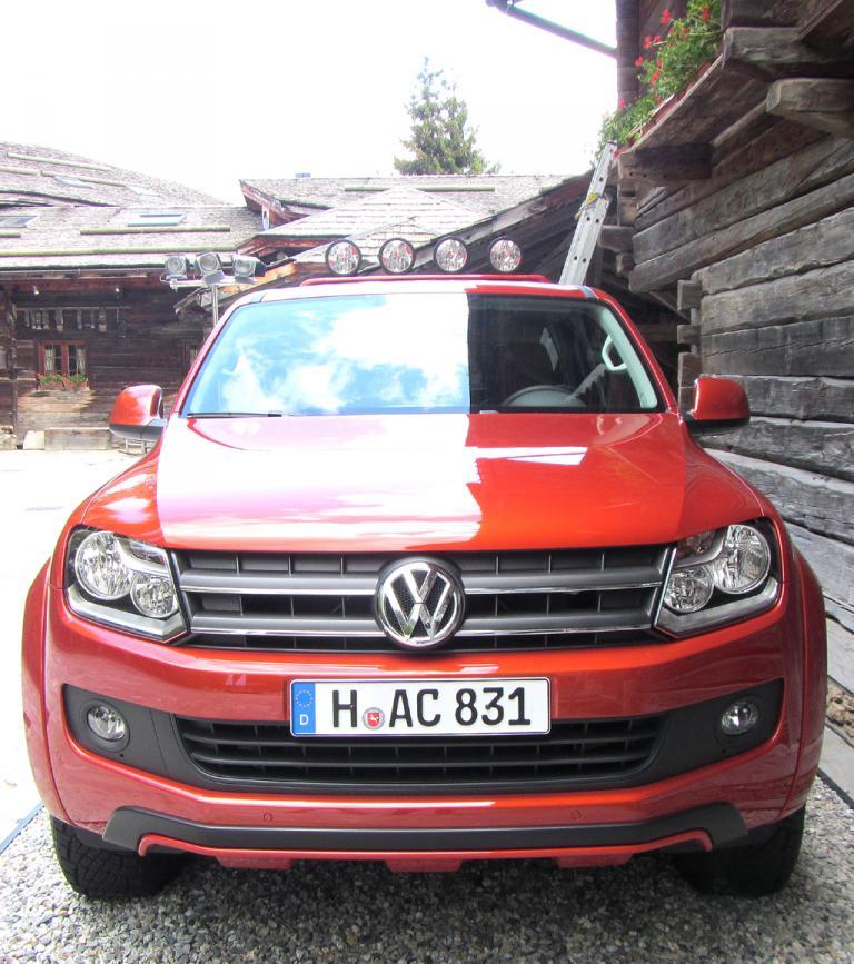 VW Amarok Canyon: Blick auf die Frontpartie.