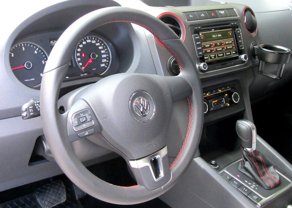 VW Amarok Canyon: Blick ins Cockpit.