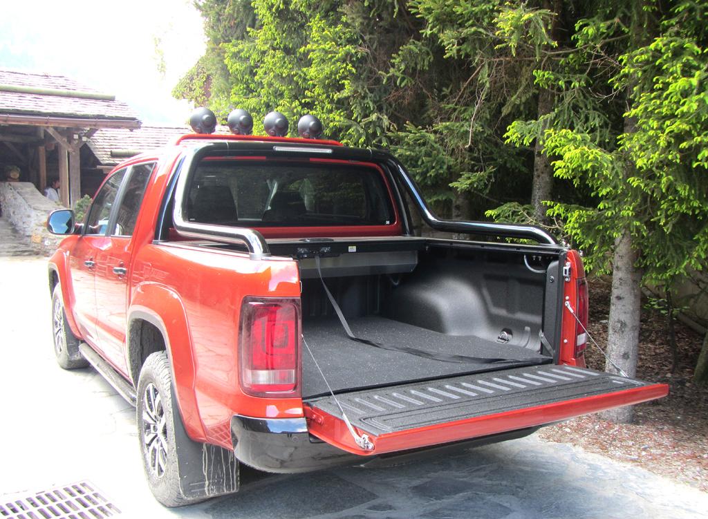 VW Amarok Canyon: Die Europaletten-taugliche Ladefläche ist 2,5 Quadratmeter groß.