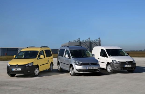 VW Caddy und VW Transporter als beste Nutzfahrzeuge ausgezeichnet