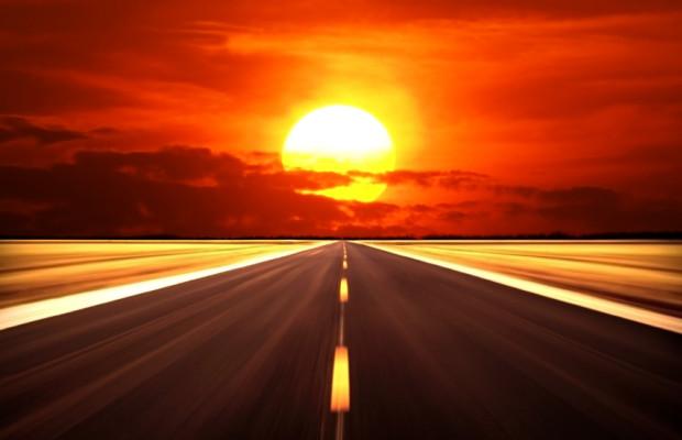 Viele Autobahnen platzen vor Hitze