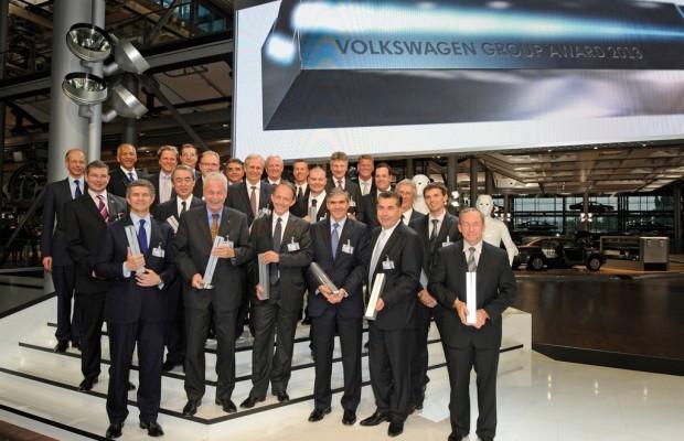 Volkswagen-Konzern zeichnet Lieferanten aus