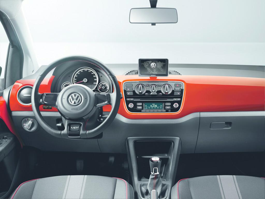 Volkswagen Up als Sondermodell mit Fender-Sound