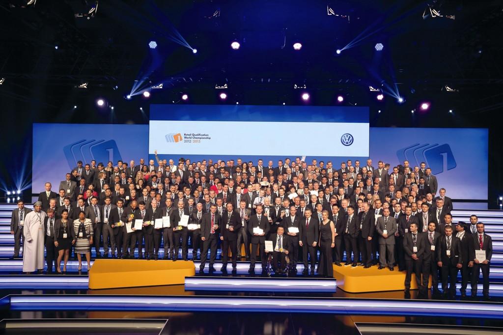Volkswagen findet sein bestes Verkaufs- und Serviceteam in Österreich