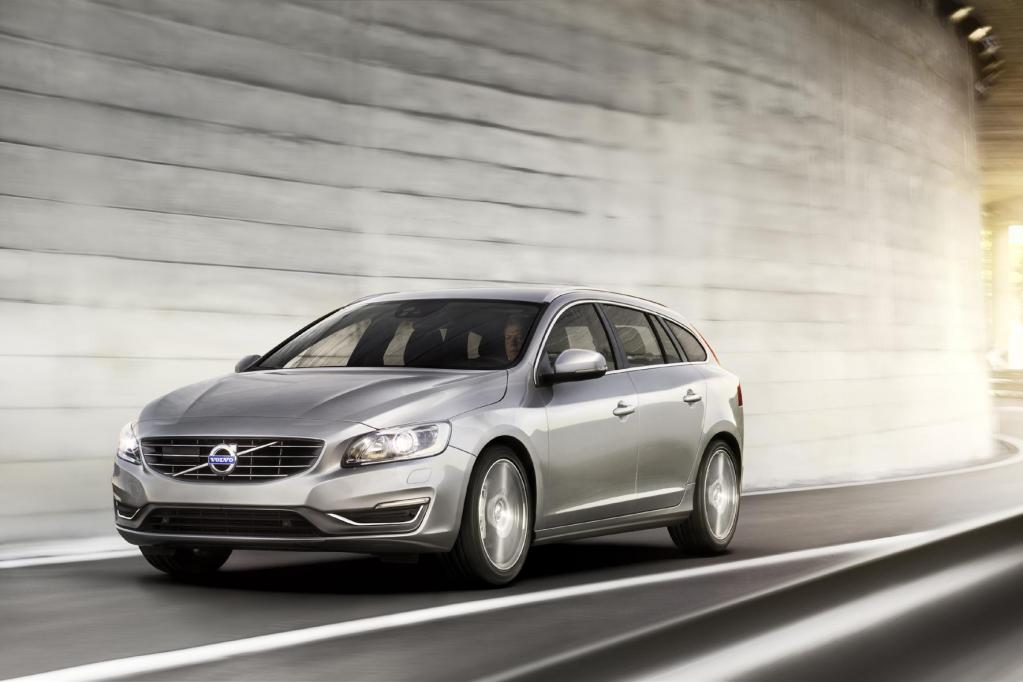 Volvo präsentiert Erdgas-Variante des V60