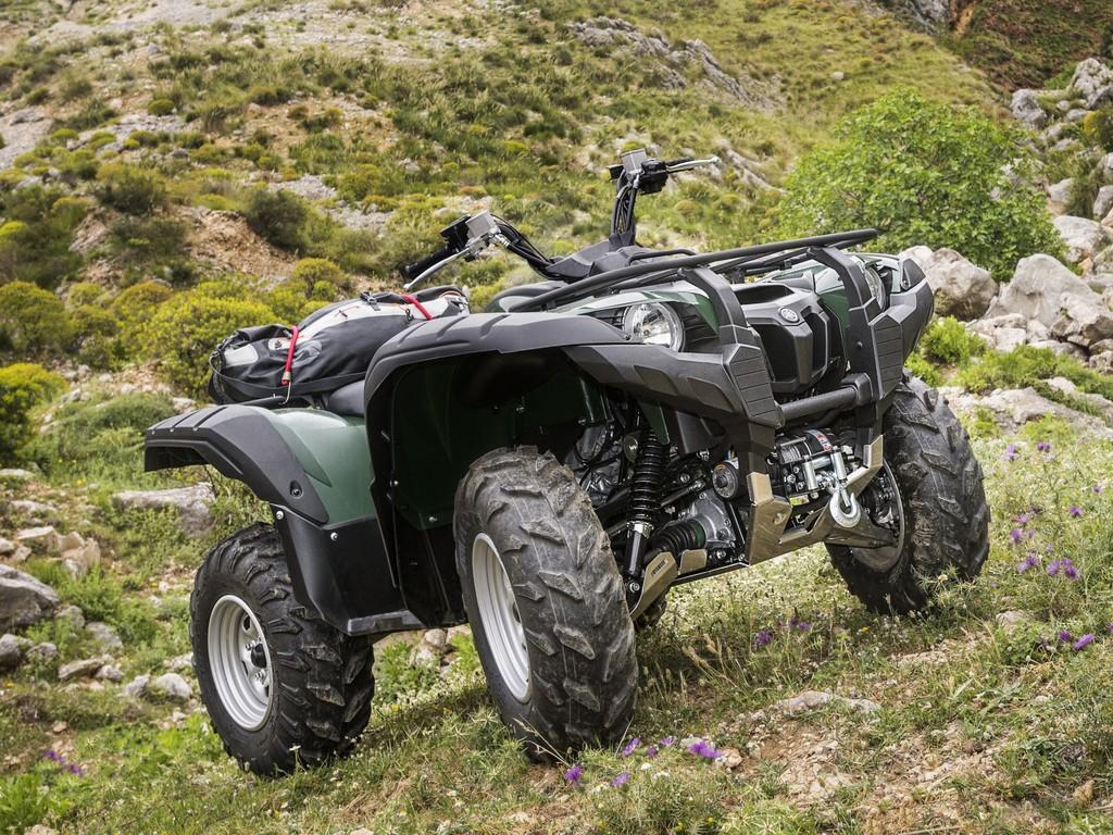 Yamaha Grizzly 700 breiter und stärker