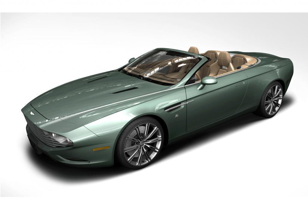 """""""Der Spyder kombiniert das typische elegante Zagato-Design mit der Seele, Kraft und dem Prestige von Aston Martin"""", sagt der glückliche Käufer"""
