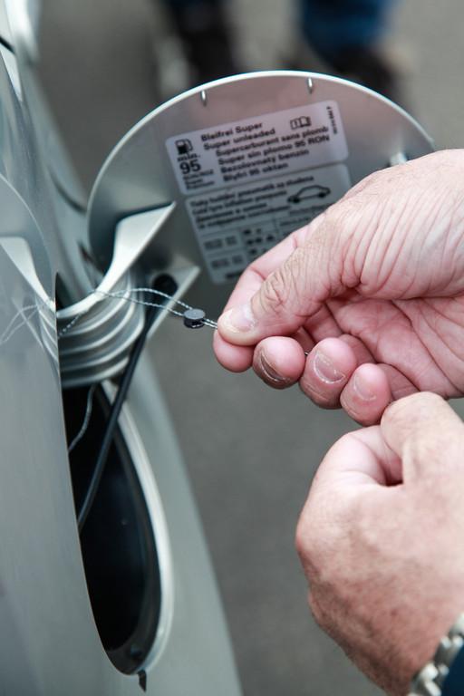 Škoda Citigo CNG startet zu Rekordversuch