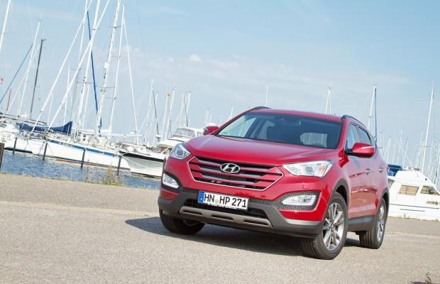 2,0-Liter-Turbodiesel des Hyundai Santa Fe erfüllt Euro6