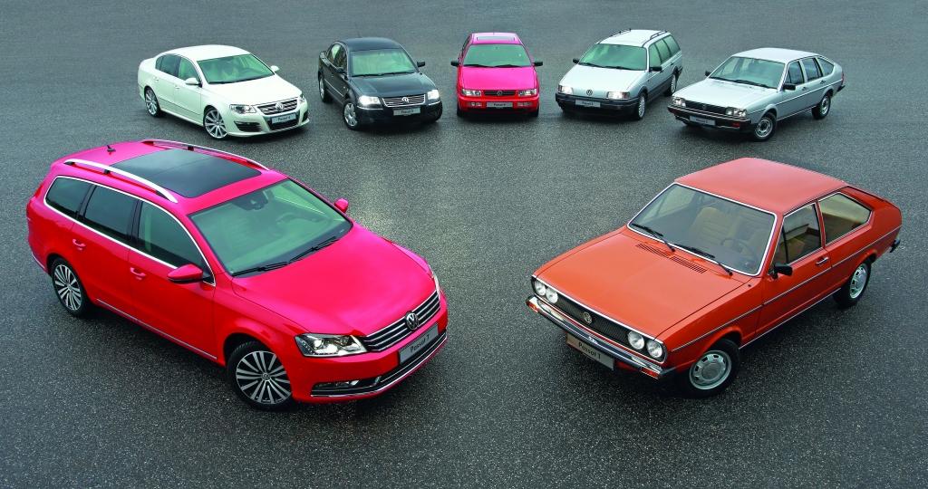 40 Jahre VW Passat: Der Retter von Wolfsburg