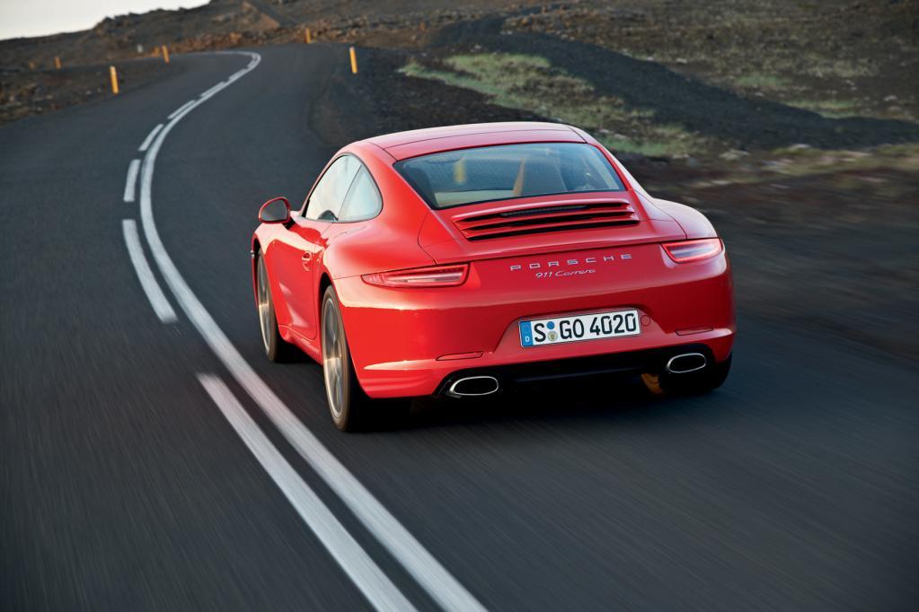 50 Jahre Porsche 911: Treffen der Generationen