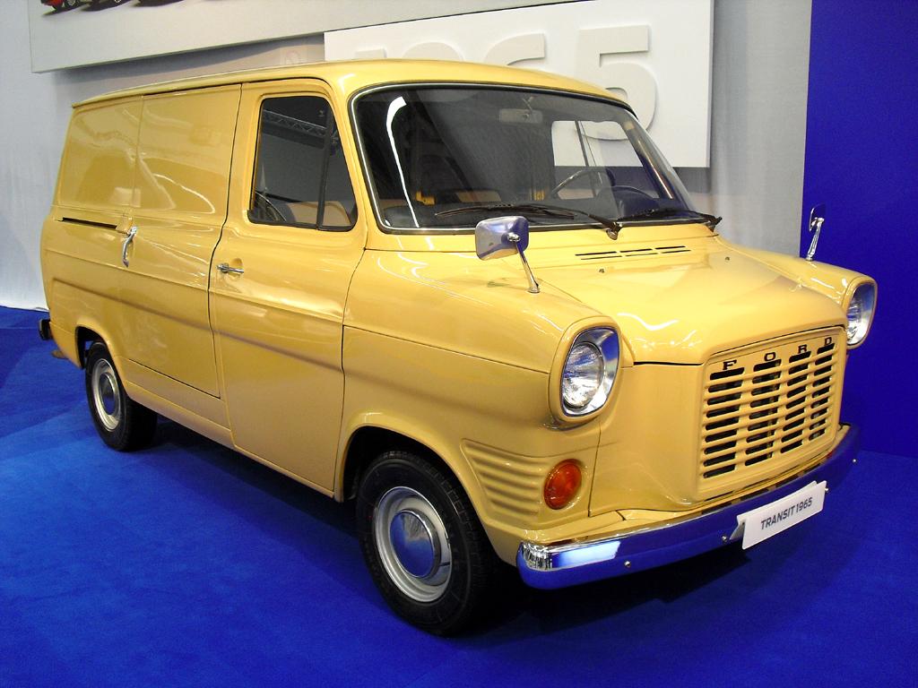 60 Jahre Ford Transit - und mit Custom, Connect und Courier dichter gestaffelt