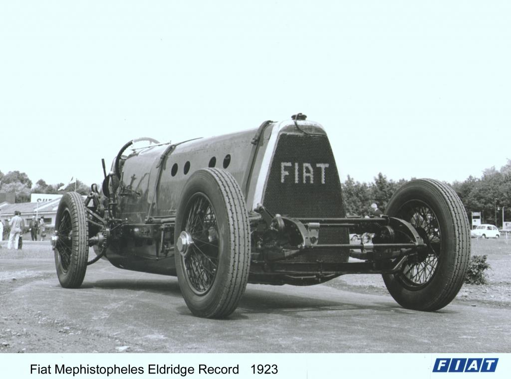 Absolut teuflisch - Fiat Mefistofele mit 21.7-Litern Hubraum