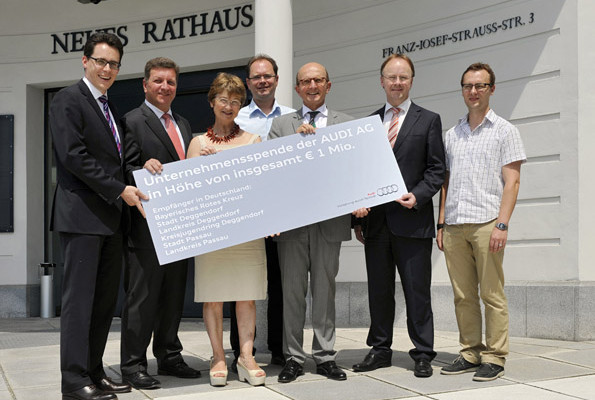 Audi spendet eine Million Euro für Flutopfer