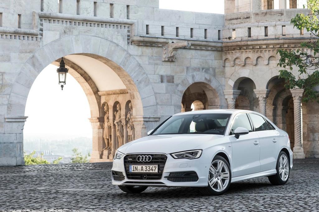 Audis A3 mit Kofferraumheck kommt aus Ungarn