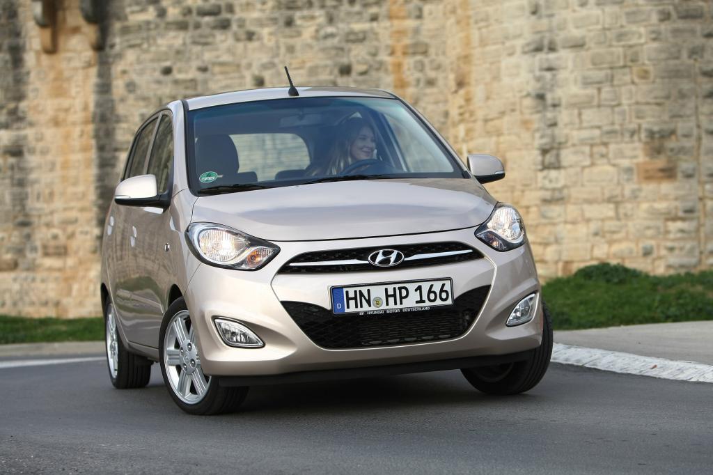 Auf den ersten Blick ist der Hyundai i10 (hier nach dem Facelift) ein netter und günstiger Stadt-Flitzer. Muss der Mini aber zur Hauptuntersuchung, offenbart er Schwächen