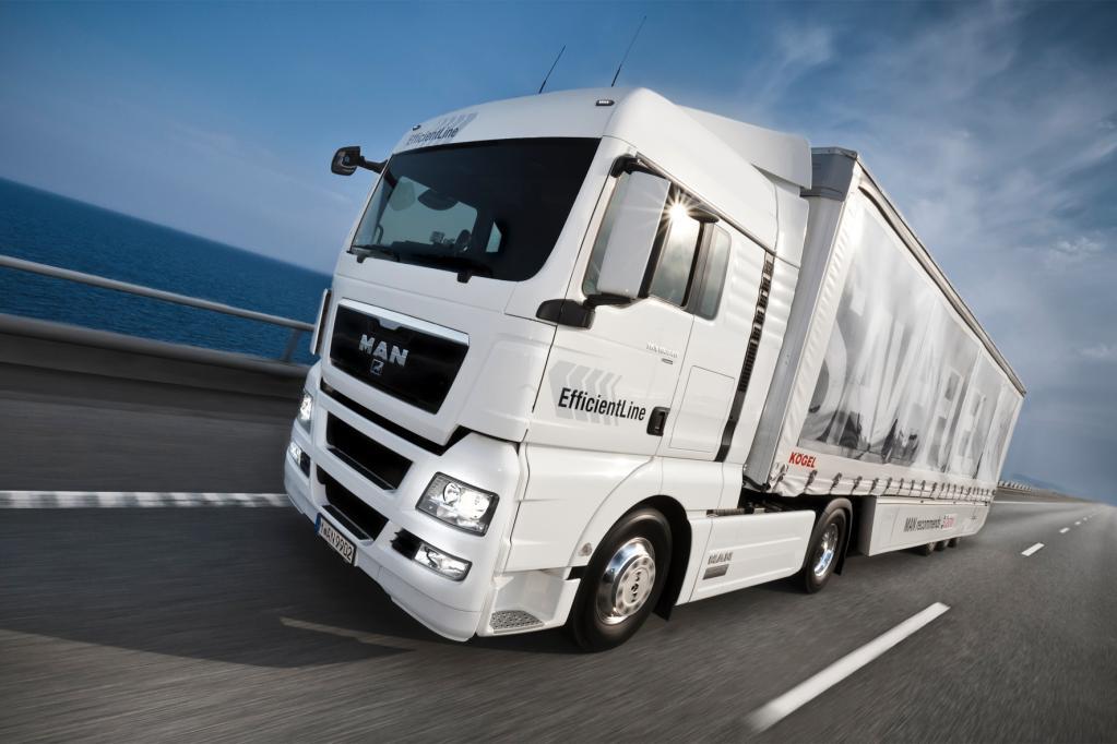 Auslastung im Lkw-Güterverkehr verbessern