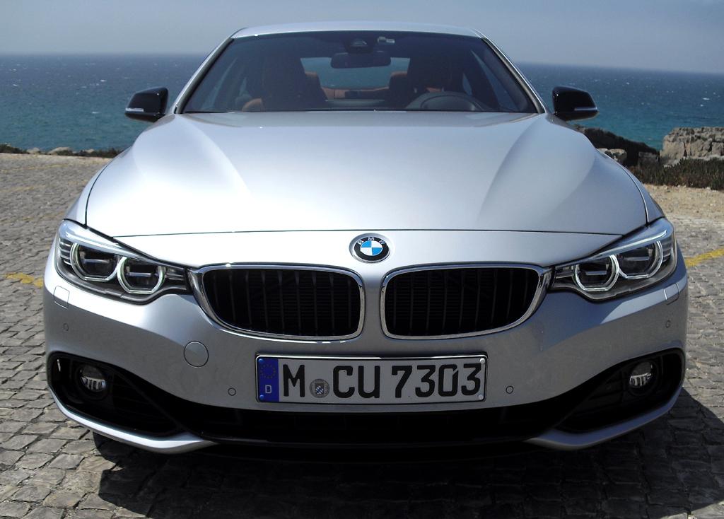 BMW 4er Coupé: Blick auf die Frontpartie.