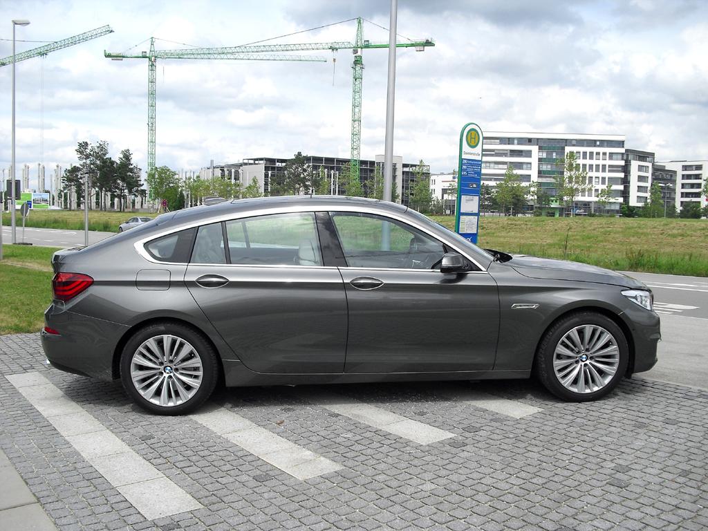 BMW 5er: Das GT-Heck wird nun nicht mehr ganz so wuchtig.