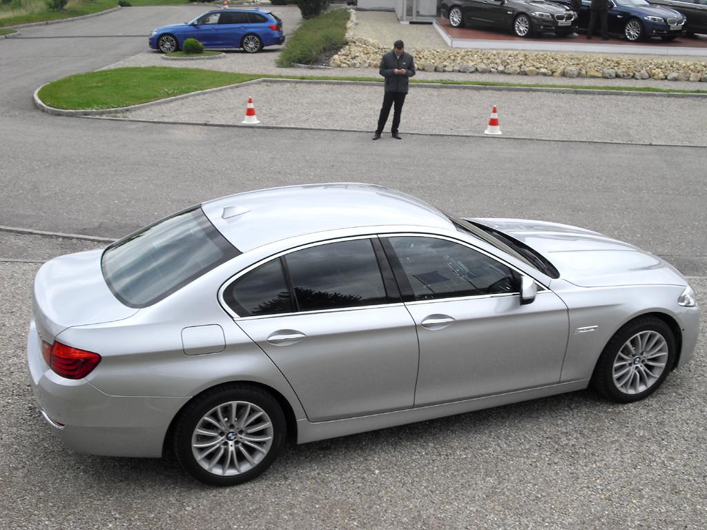 BMW 5er: Und so sieht die Limousine von der Seite aus.