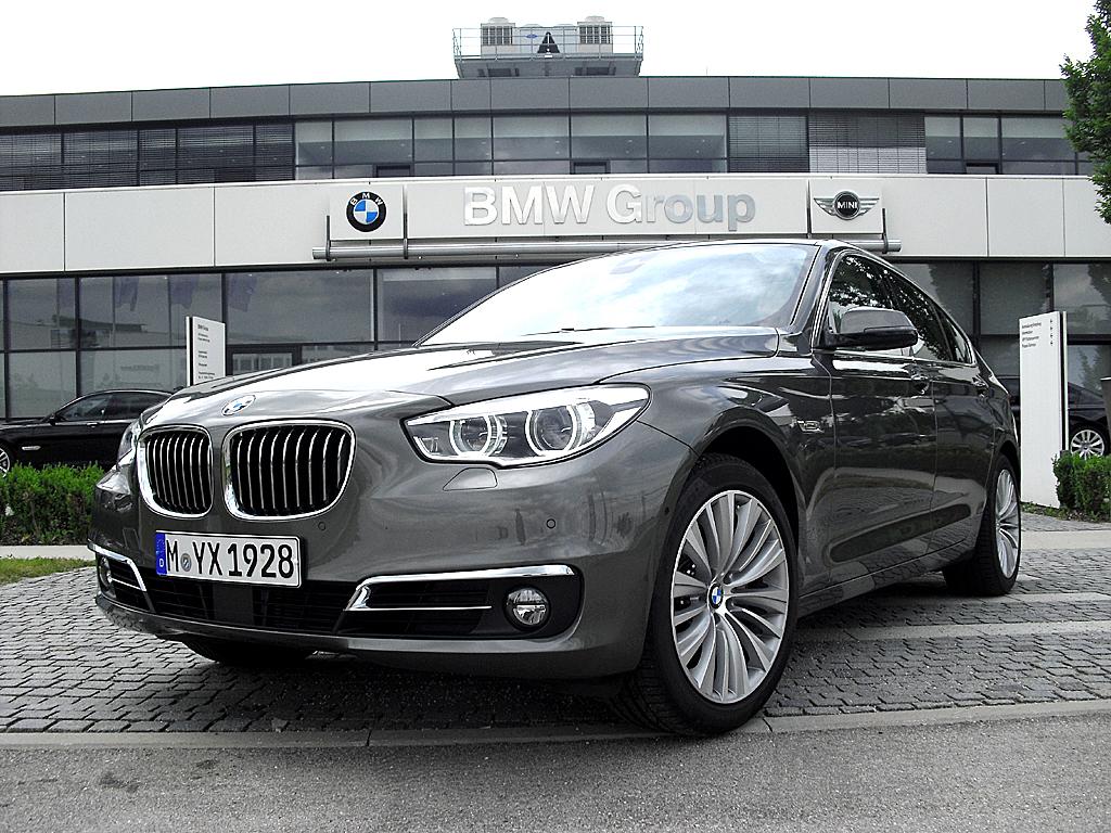 BMW 5er, hier als G(ran)T(urismo)-Version.